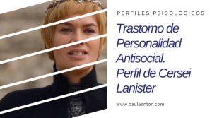 trastorno personalidad antisocial